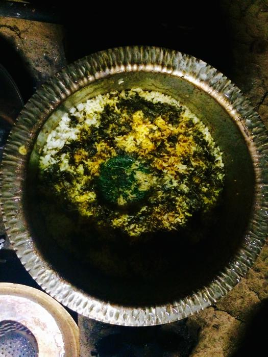 Biryani of Locally cultivated Indrayani Rice